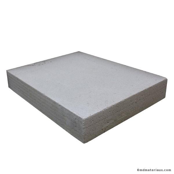 Carreau b ton cellulaire 50x62 5 ep 7 cm - Plaque de beton cellulaire ...
