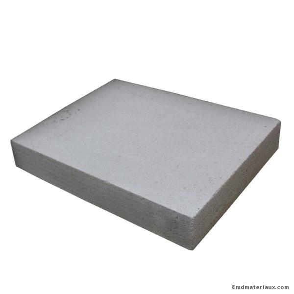 Carreau béton cellulaire 50x62,5 ep 10 cm