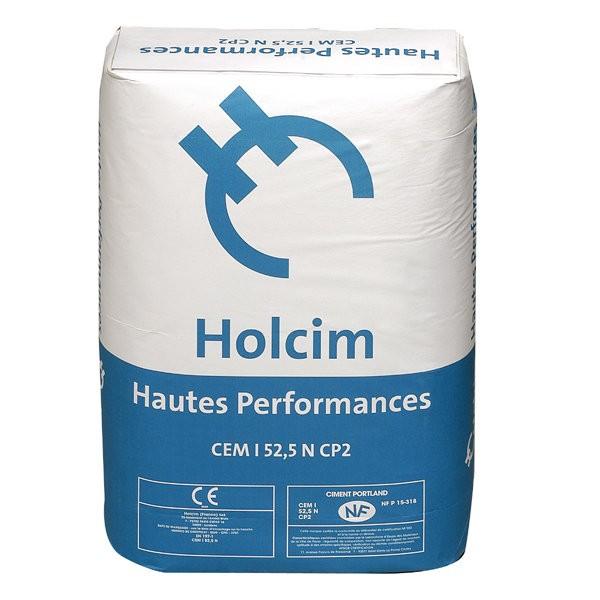 Ciment CPA 52,5 cem/i en sac de 25 Kg