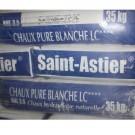 Chaux blanche en sac de 35 Kg