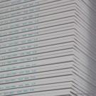 Plaque de plâtre BA 13 NF 2,5x1,2 m, la plaque